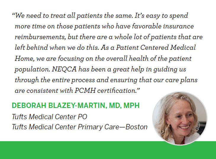 New England Quality Care Alliance - Patient Centered Medical Home